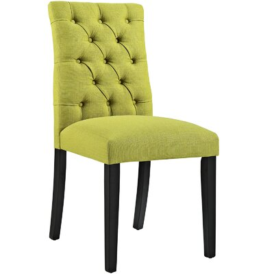 Duchess Upholstered Dining Chair Color: Wheatgrass