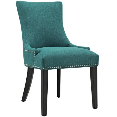 Marquis Parsons Chair Upholstery: Teal