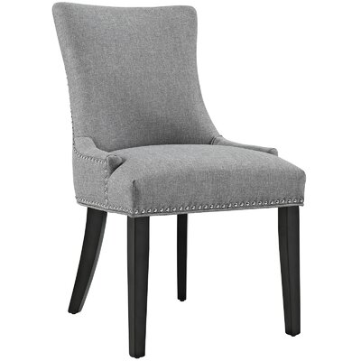 Marquis Parsons Chair Upholstery: Light Gray