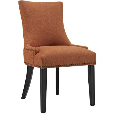 Marquis Parsons Chair Upholstery: Orange