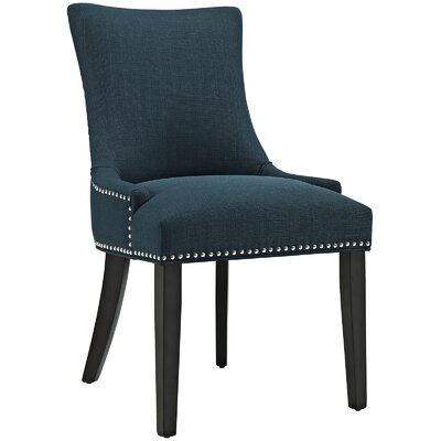 Marquis Parsons Chair Upholstery: Azure