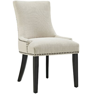 Marquis Parsons Chair Upholstery: Beige