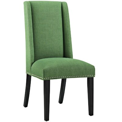 Baron Parsons Chair Upholstery: Fabric - Green