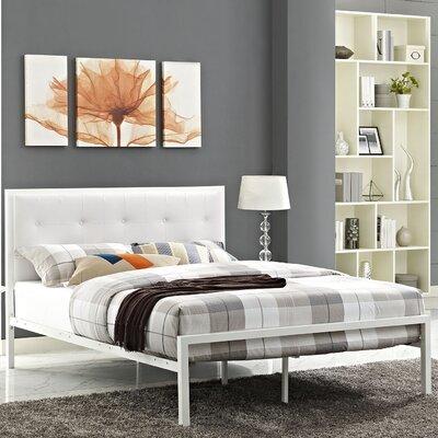 Lottie Upholstered Platform Bed Size: Queen