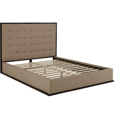 Madeline Bed Frame Color: Caf�