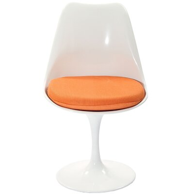 Julien Side Chair Upholstery: Orange