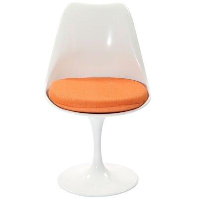 Bellamy Side Chair Upholstery: Orange