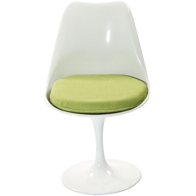 Bellamy Side Chair Upholstery: Green