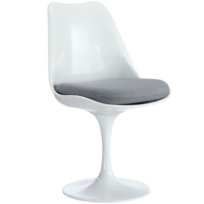 Julien Side Chair Upholstery: Gray