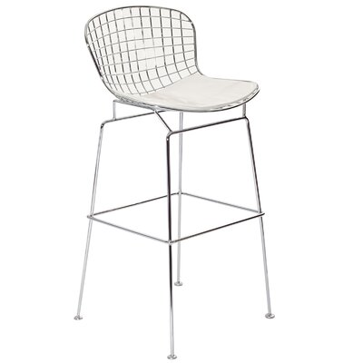 CAD Bar Stool Upholstery: Black