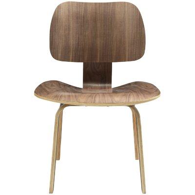 Fathom Side Chair Color: Walnut