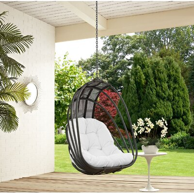 Whisk Swing Chair Color: White