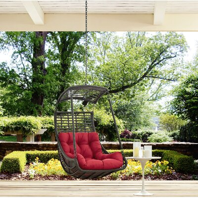 Jungle Swing Chair Color: Red