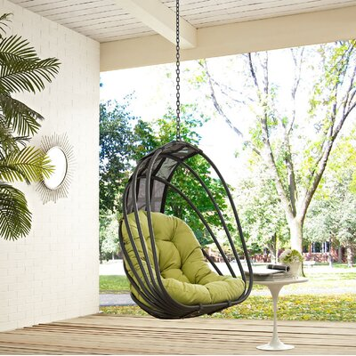 Whisk Swing Chair Color: Peridot