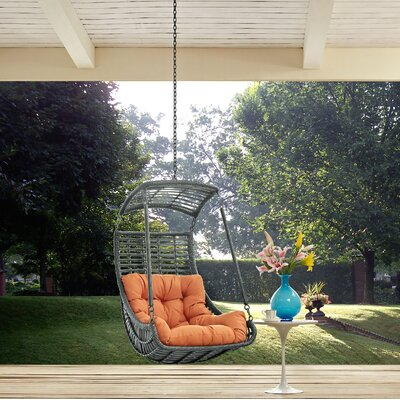 Jungle Swing Chair Color: Orange