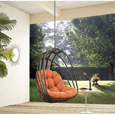 Whisk Swing Chair Color: Orange