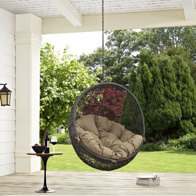 Hide Swing Chair Color: Gray/Mocha