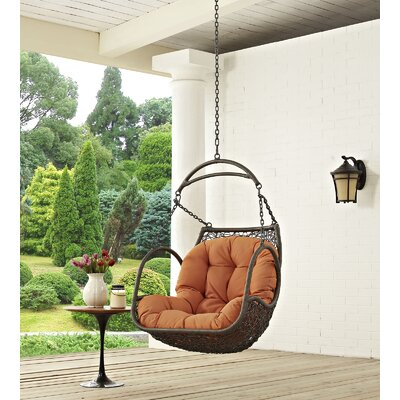 Arbor Swing Chair Color: Orange