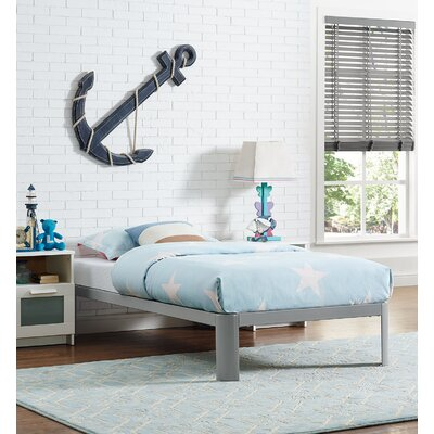 Corinne Twin Platform Bed Color: White