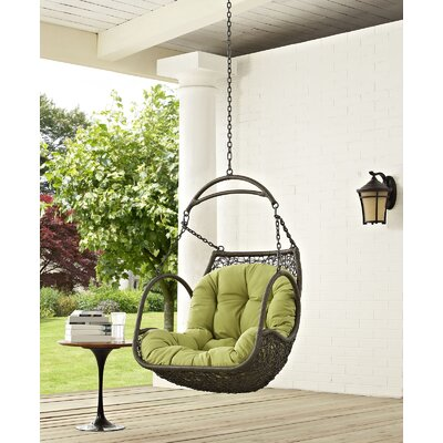 Arbor Swing Chair Color: Peridot