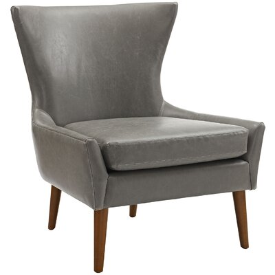 keen Side chair Upholstery: Gray