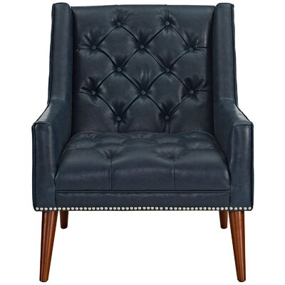 Peruse�Arm Chair Upholstery: Blue