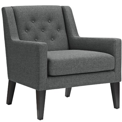 Earnest Armchair Upholstery: Gray