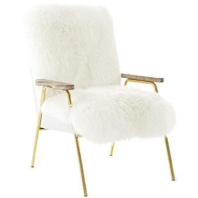 Sprint Armchair Upholstery: White