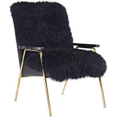 Sprint Armchair Upholstery: Black