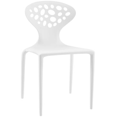 Animate Side Chair Finish: White