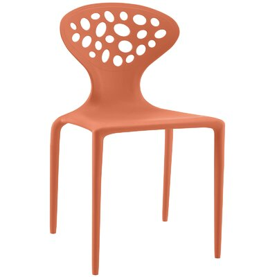Animate Side Chair Finish: Orange