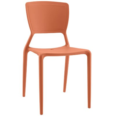 Fine Side Chair Finish: Orange