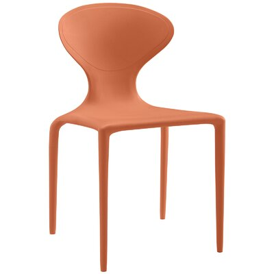 Draw Side Chair Finish: Orange
