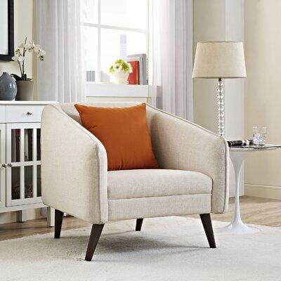 Slide Armchair Upholstery: Beige