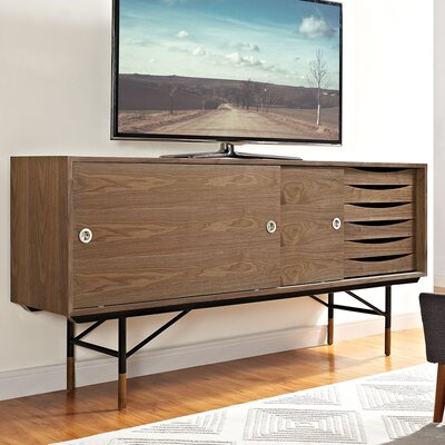 Envoy 77 TV Stand Color: Walnut