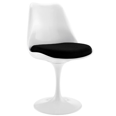Bellamy Side Chair Upholstery: Black