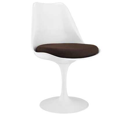 Bellamy Side Chair Upholstery: Brown