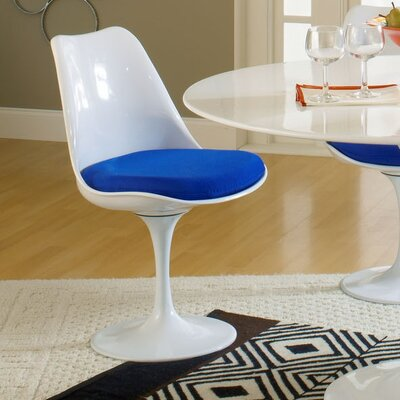Julien Side Chair Upholstery: Blue