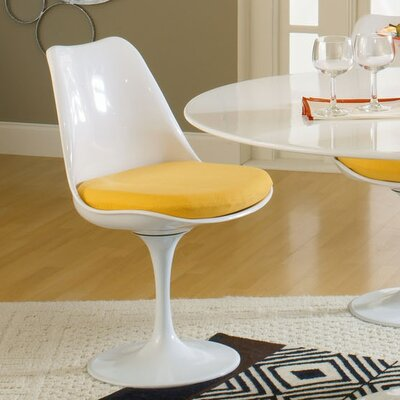 Julien Side Chair Upholstery: Yellow