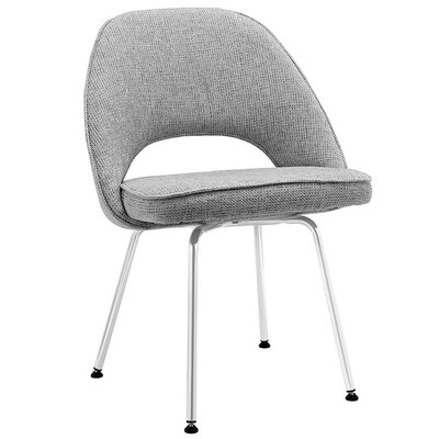 Bradway Dining Side Chair Upholstery: Light Gray