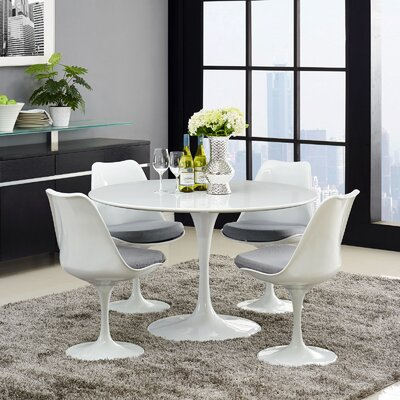 Julien Dining Table Size: 28.5 H x 47 W x 47 D