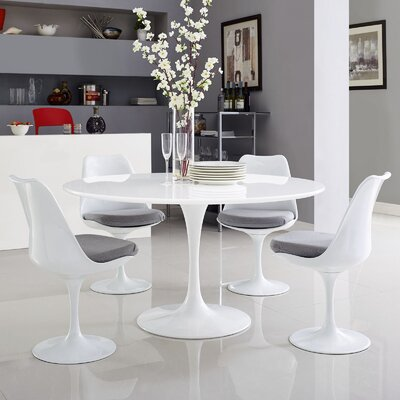 Julien Dining Table Size: 28.5 H x 54 W x 54 D