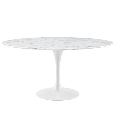 Julien Lacquered Round Dining Table