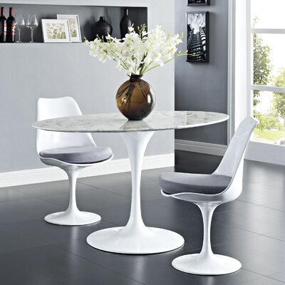 Julien Oval Aluminum Dining Table