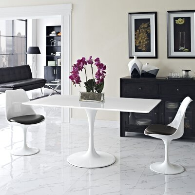Julien Contemporary Rectangular Dining Table