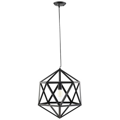 Hadron 1-Light Mini Pendant Size: 22