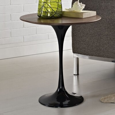 Julien End Table Color: Black