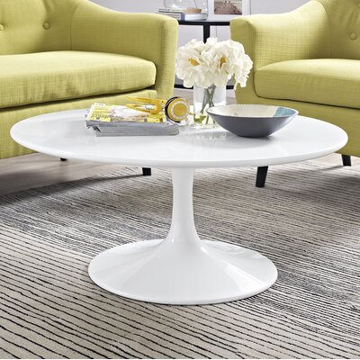 Julien Round Coffee Table Size: 15.5 H x 36 W x 36 D