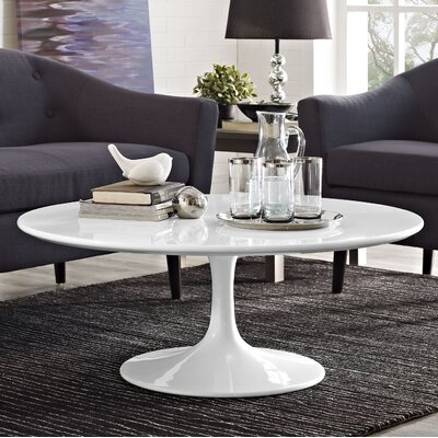 Julien Round Coffee Table Size: 15.5 H x 40W x 40 D