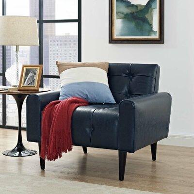 Hooper Club Chair Upholstery: Blue